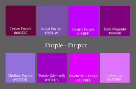 shades of purple inspire home design