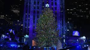 the 82nd annual rockefeller center christmas tree lighting