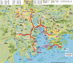 Gatech Map 2006 Program Route In The Pearl River Delta