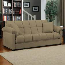Futon Living Room Set Bed For Living Room Mocha Sleeper Sofa Convertible Couch Full Bed