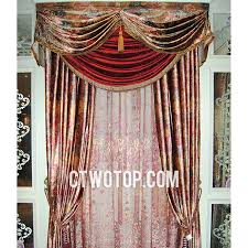 Brown Floral Curtains Victorian Designer Living Room Brown And Red Floral Curtains No