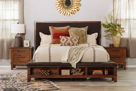 5 Piece Bedroom Set Under 1000 by Four Piece Contemporary Storage Bedroom Set In Brown Mathis