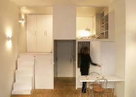 300 square foot micro studio loft apartment with space saving