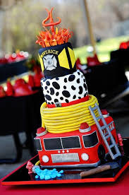37 best cakes fireman police images on pinterest fireman cake