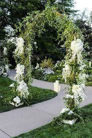 Wedding Arch Greenery Reception Décor Photos Reception Entry Path Inside Weddings