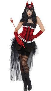 halloween costume devil woman grotesque burlesque costume devil halloween costume