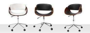 siege de bureau design fauteuil de bureau chaise de bureau ergonomique miliboo