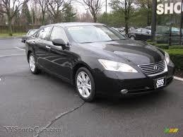 lexus 2007 es 350 2007 lexus es 350 in black onyx 021259 nysportscars com cars
