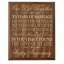 35 year anniversary gift 35 year anniversary gift
