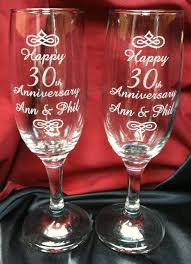 engraved anniversary gifts anniversary chagne glass personalized anniversary gift engraved