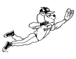baseball mascots coloring pages u2014 fitfru style baseball coloring