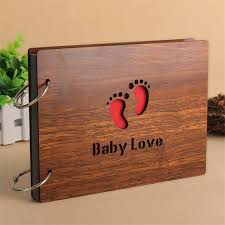 personalized wedding photo albums aliexpress buy scrapbooking paper wood cover albums handmade