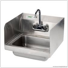 stainless steel hand sink 16 inch commercial stainless steel hand sink restaurant supply world