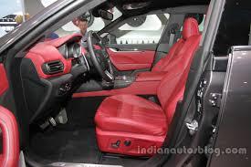 maserati levante dashboard maserati levante interior front seats at auto china 2016 indian