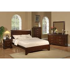 King Sleigh Bed Set by Alpine Furniture West Haven Sleigh Bed Hayneedle