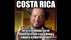 Costa Rica Meme - m礬xico venci祿 2 0 a costa rica memes se burlan de chicharito