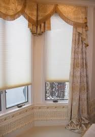 Dining Room Bay Window Treatments - window treatments for bay windows window treatments drapery