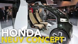 honda micro commuter concept car honda neuv concept 2017 consumer electronics show youtube