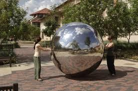 Garden Sphere Balls Stainless Steel Sphere Hollow Stainless Steel Ball Stainless Steel