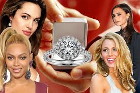 Celebrity Wedding Rings by Celebrity Engagement Rings Here U0027s The Most Beautiful Ones The