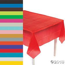 table cloth plastic tablecloth