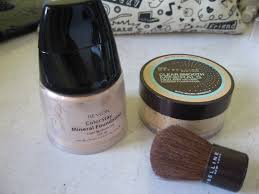 Alas Bedak Maybelline the curly journal mineral foundie revlon vs maybelline