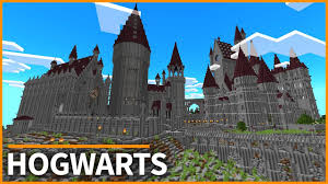 Mpce Maps Minecraft Pe Maps Hogwarts From Harry Potter Map Tour
