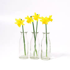 mini glass bottles small flower vases