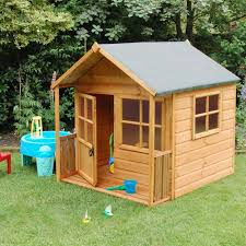wood play house log cabin style wooden blocks fort castle play