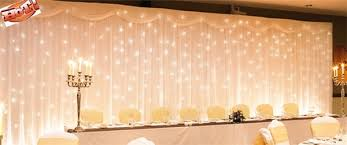 wedding backdrop with lights diy lighted backdrop
