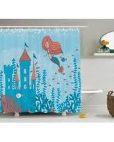 The Little Mermaid Shower Curtain Fall Is Here Get This Deal On Mermaid Shower Curtain Set Graphic