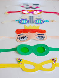 paper glasses fun family crafts