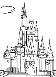Princess Castle Coloring Page Castle Coloring Pages Princess Coloring Pages Castles
