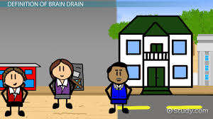 what is brain drain in economics definition causes effects