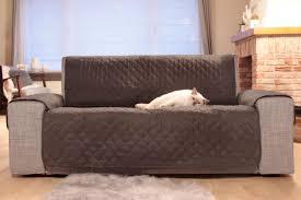 protège canapé sofa protège canapé gris foncé gris clair larg 224 x 179 cm