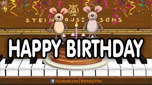 happy birthday singing cards singing candles happy birthday card dailymotion