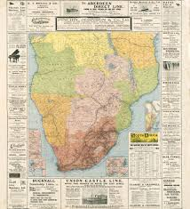 Map Of The Africa by The Railway Map Of South Africa From 1912 3568x3914 Mapporn