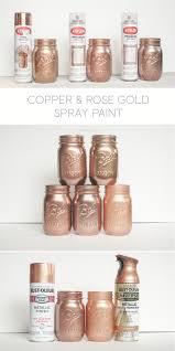 krylon white copper dusty pink and foil metallic copper rust