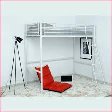 lit mezzanine bureau blanc lit mezzanine 90 190 meilleur lit metal blanc awesome top stunning