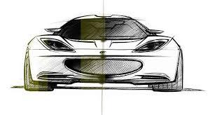 lotus evora design sketch 4 lg supercar sketches