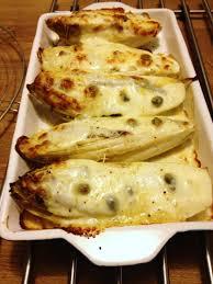 cuisiner des endives endives au four à la mozzarella anchois et câpres de