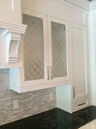 tiles backsplash kitchen cabinet organizers doors glass front