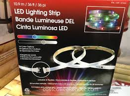 ge led icicle lights costco sylvania led light strips costco lilianduval