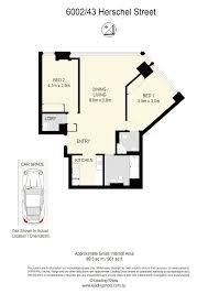 Floor Plans Brisbane 6002 43 Herschel Street Brisbane City Qld 4000 Sold