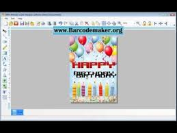 free birthday card maker software download how to make design
