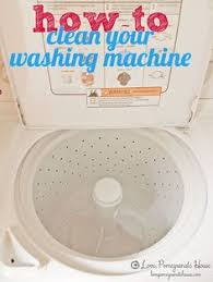 How To Wash Blinds In The Washing Machine How To Clean A Top Loading Washing Machine Pinner Said The