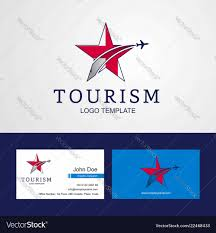 Georgia Travel Info images Travel georgia flag creative star logo and vector image jpg