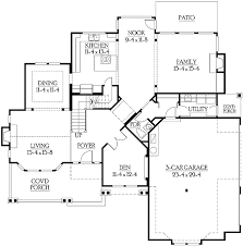 corner lot floor plans side entry garage for corner lot 23114jd architectural