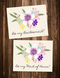 bridesmaid poems to ask free will you be my bridesmaid printables