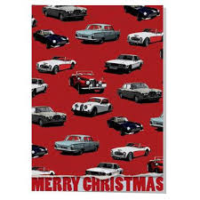 car wrapping paper classic car wrapping paper christmas card artwords design
